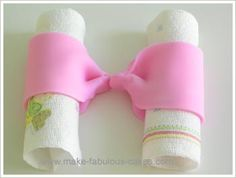 How to make a fondant bow or bow tie with or without streamer