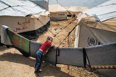 Syrian refugee crisis: Life in Jordan's desert city. by Olivier Vogelsang