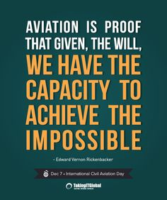 Happy #TravelTuesday -- Where there is a will, there is a way! #aviation #quote