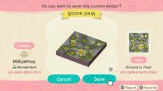 Animal Crossing Memes, Animal Crossing Qr Codes Clothes, Theme Tunes, Floral Rug, Cute Art, Paths, Custom Design, The Creator, Tropical