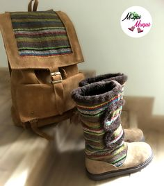Lovely winter boots, check out the collection of Muqui Muqui, handmade and unique shoes/bags made in Ecuador! https://www.facebook.com/muquimuquishoes/