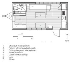 images about Tiny House Plans on Pinterest   Tiny house    Man Builds Modern Sq  Ft  Tiny Home  Minim Home is wide by long  Sure it    s a wide load  but most little houses spend most of their time being lived in
