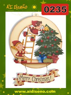 Navidad 2014 | maderacountry.mx Christmas Snowman, Christmas Crafts, Merry Christmas, Xmas, Christmas Ornaments, Biscuit, Christmas Graphics, Country Paintings, Tole Painting
