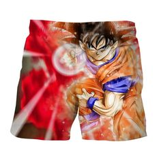 db10057c6a Dragon Ball Goku Ki Blast Skill Awesome 3D Design Shorts #dbz #dragonball  #anime. Saiyan Stuff