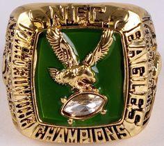 1980 Philadelphia Eagles NFC Championship Ring