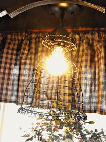 At Home With K: New Light Fixture