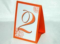 Elegant table numbers  Wedding table numbers  by WeddingUkraine