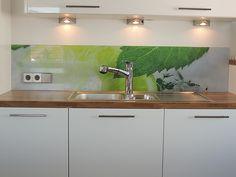 wandpaneele mit grasmotiv   kitchen   pinterest - Rückwand Für Küche