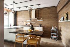 Kitchen hdb flat living room kitchen retro kitchen island subway tile