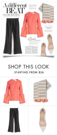 """""""BEAT (TFS 261216)"""" by virgamaleva ❤ liked on Polyvore featuring Roksanda and Gianvito Rossi"""