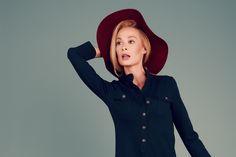 #fashion #hat #dress #autumn2015 #izabelamuther