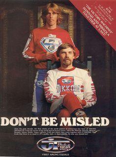 1977/78- Bob Hannah with Heikki Mikkola, Yamaha World Legends!