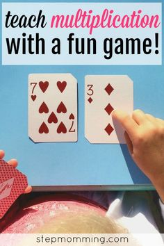 Teach your child a love of learning with an assortment of fun educational games, including this fun, interactive multiplication game! Multiplication Activities, Math Activities For Kids, Fun Math Games, Math For Kids, Maths, Learning Activities, Homeschool Math, Homeschooling