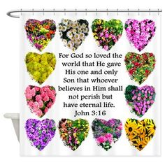 Bible verse John 3:16  on a beautiful floral photo design  on Tees, Decor and Gifts http://www.cafepress.com/heavenlyblessings.1487558477 #John316  #BookofJohn  #GospelofJohn #John3scriptureverse  #John3bibleverse #John316biblequote #inspiration  #Jesus  #JesusisLord  #Christian #Christiangifts #BelieveinGod #ILoveJesus  #Jesusgifts  #BlessedbyGod