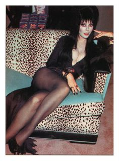 elvira (not my fav and really not an actress)? lol I met her shes cool...
