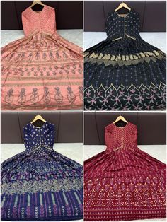 Order #Shaheen Long GOWN Mom1250 Daughter 1180 on WhatsApp number +919619659727 or ArtistryC.in Kids Gown, Girls Wear, Lehenga Choli, Boy Or Girl, Pajamas, Daughter, Gowns, Number, How To Wear