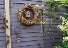 Top tips for garden fence care. Preserve and maintain garden fence panels for years to come with fence preservatives, oils, paints and treatments. Garden Fencing, Colorful Garden, Grapevine Wreath, Grape Vines, New Homes, Fence Ideas, Garden Ideas, Colours, Wreaths