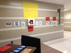 Our augmented reality cafe #crowleyisdlearn #edcamp #AR pic.twitter.com/4hH6Gw0coI