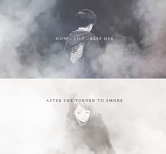 How can I grasp her after she turned to smoke? :: Levi and Petra // AoT