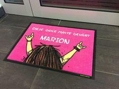 Diese geile Matte gehört Marion!