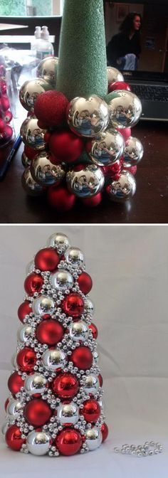 holiday diy DIY your Christmas gifts this year with GLAMULET. they are compatible with Pandora bracelets. 20 Great Ways To Decorate Your Home With Christmas Ornaments - Styletic Noel Christmas, Diy Christmas Gifts, Christmas Projects, Winter Christmas, Christmas Wreaths, Christmas Ornaments, Ornaments Ideas, Christmas Ideas, Homemade Christmas