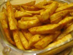 Knolselder frieten uit de oven