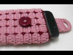 Cell phone case Part-1 crochet Tutorial-Hackovanie Crochet - YouTube