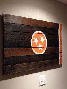 For my TN girls! Pallet wood TN Flag.                 thanks!