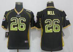 Women Pittsburgh Steelers 26 Bell Drift Fashion Black New Nike Elite NFL Jerseyscheap nfl jerseys,cheap nfl jerseys free shipping,cheap nfl jerseys china,from chinajerseys.ru Jerseys Nfl, Pittsburgh Steelers Jerseys, Pittsburgh Penguins, Nike Nfl, Women, China, Star, Cheap Wholesale, Cheap Nike