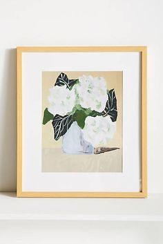 Hydrangeas For Paula Wall Art
