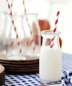 Milk Bottle Collection Set of 6 | dotandbo.com