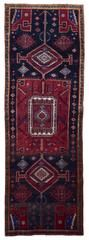 Semi-Antique Persian Hamadan Oriental Runner 3'11X11'9
