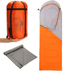 Camping Sleeping Bags - Superior Sleeping Bag Set  Lightweight Sleeping Bag with Compression Sack and Polyester Sleeping Bag Liner * Check this awesome product by going to the link at the image.