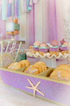 Mermaid Birthday Party Ideas | Photo 1 of 38 | Catch My Party