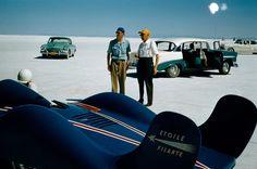 Renault, Etoile Filante, Bonneville Salt Flats, 1956