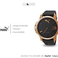 #Puma para Caballero a sólo $1,800 #SoloEnClocks  http://instagram.com/clocksrelojes https://www.facebook.com/clocksrelojes https://twitter.com/ClocksRelojes