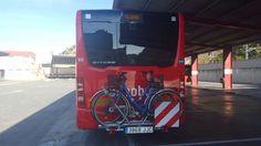Bilbao incorpora a su flota de un autobús con portabicicletas y un sistema de cámaras con visión de 360 grados