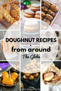 Are you tired of the same old doughnuts and wanna spice things up? Take a look of these 10 doughnut recipes from around the world!