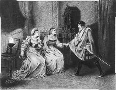 The Borgia Family History | borgia family c16th francesco borgia with lucrezia his mother ...