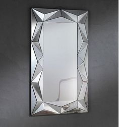 espejo modernos  espejos de cristal espejos baratos espejos originales espejos Stained Glass Mirror, Mirror Mosaic, Mirror Art, Mosaic Glass, Spiegel Design, Mirror Inspiration, Mirrored Furniture, Entryway Decor, Deco Wall