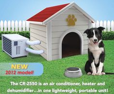 fans dog doors choosing a refrigerative air conditioner 56 read - Dog houses with air conditioning