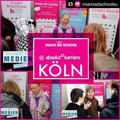 #Repost @miamiadschooleu  creative peeps! we're in cologne at the career fair absolutkarriere at satory säle this friday 30th of september. come along and get to know us and our innovation and idea school from 8.30am to 2.30pm! shhhhh there is a little competition going on as well ;) see you around!#miamiadschooleurope #miamiadschool #hamburg #berlin #popcultureengineering #maslife #adschoollife #flamingoontheroad