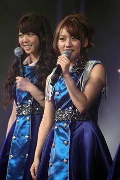 Takamina and Miichan during Washington DC concert #AKB48