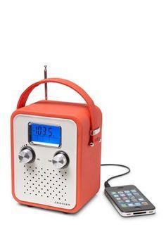 Orange Songbird Radio