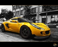 Lotus Elise. Yes, there is a car with my name. Someday, I will ride in this car.