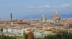Firenze (or Florence), Italy . One of the loveliest cities I've visited