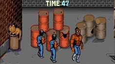 LEVEL 5—A group of video game henchmen patrolling the warehouse hideout of their criminal mastermind boss informed reporters Wednesday of their upcoming plan to take a brief break from making their rounds to meet up around a stack of five highly explosive barrels.