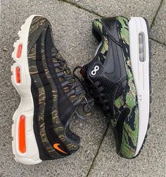 "new products a7998 71588 GetSwooshed on Instagram ""- Whos a fan of Camo Nike Air Max 👥 By  sandoobie 🔥 Click the link in our bio to shop these."
