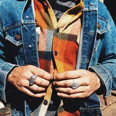 flannel | denim