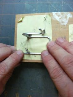 Dollhouse Miniature Furniture - Tutorials | 1 inch minis: Good idea to bend wire Not a blog but an invaluable site for learning.